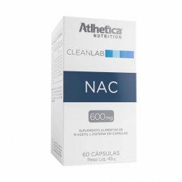 CleanLab NAC N-ACETYL-L-CYSTEINE 600mg (60 caps)