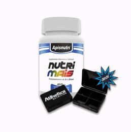 Nutrimais Polivitaminico A - Z 450mg (60 caps) + Porta Cápsula